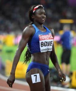 Tori Bowie - Championnat du Monde - Londres 2017
